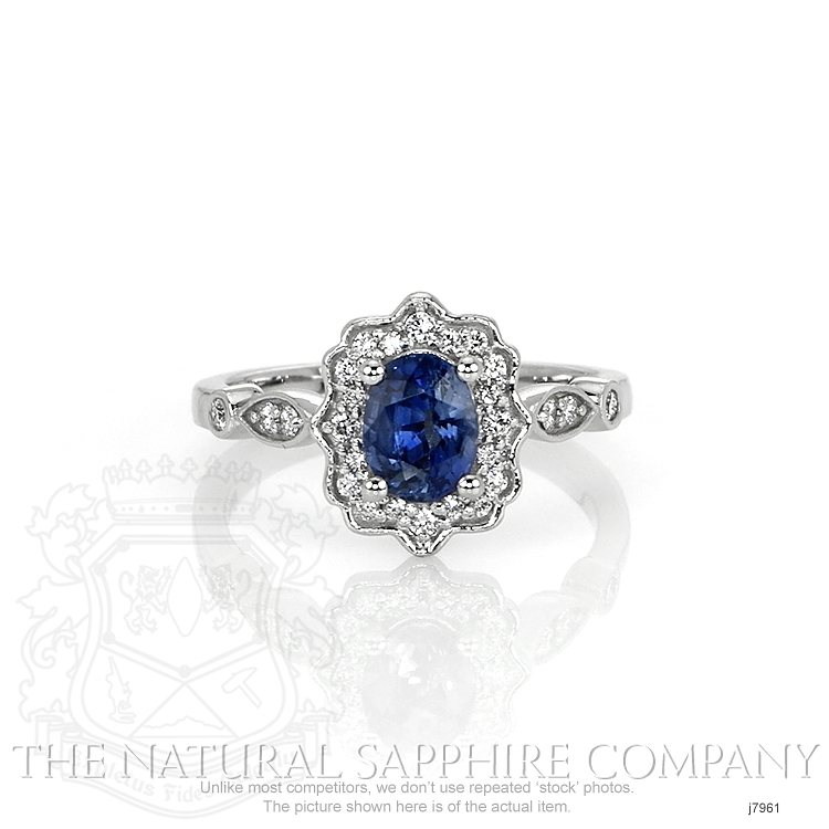 1.06ct Blue Sapphire Ring Image