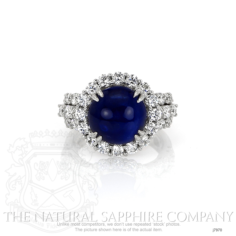 9.24ct Blue Sapphire Ring Image