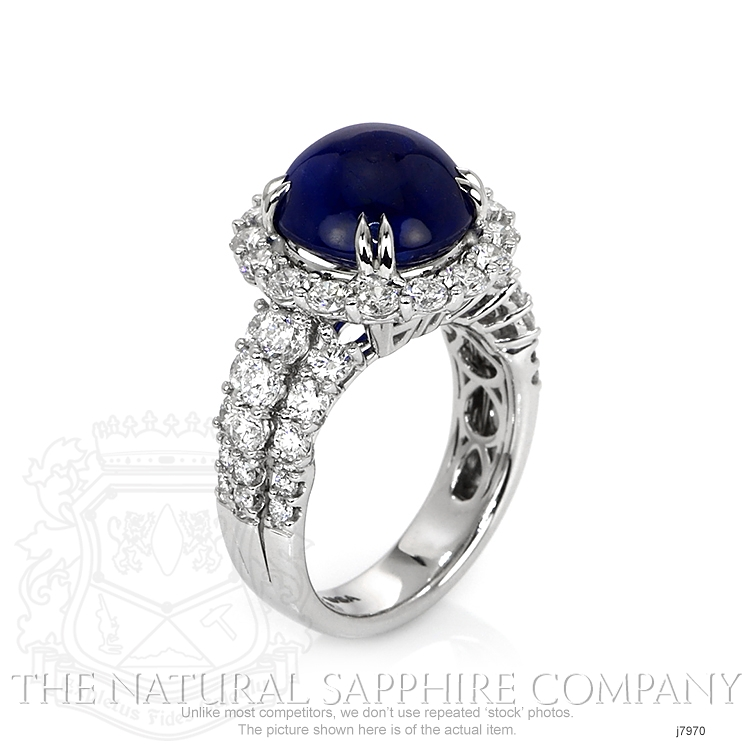 9.24ct Blue Sapphire Ring Image 2