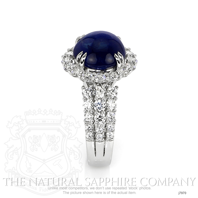 9.24ct Blue Sapphire Ring Image 3
