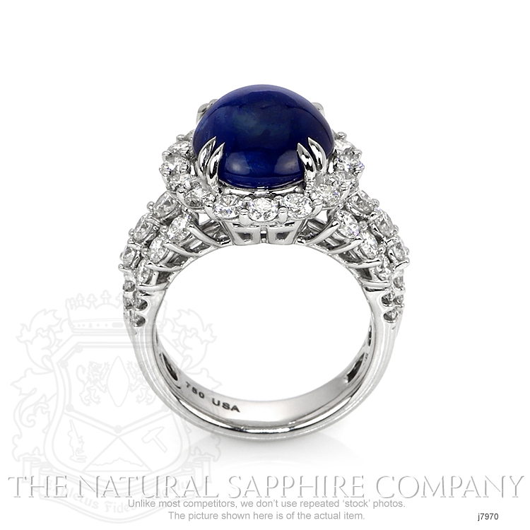9.24ct Blue Sapphire Ring Image 4