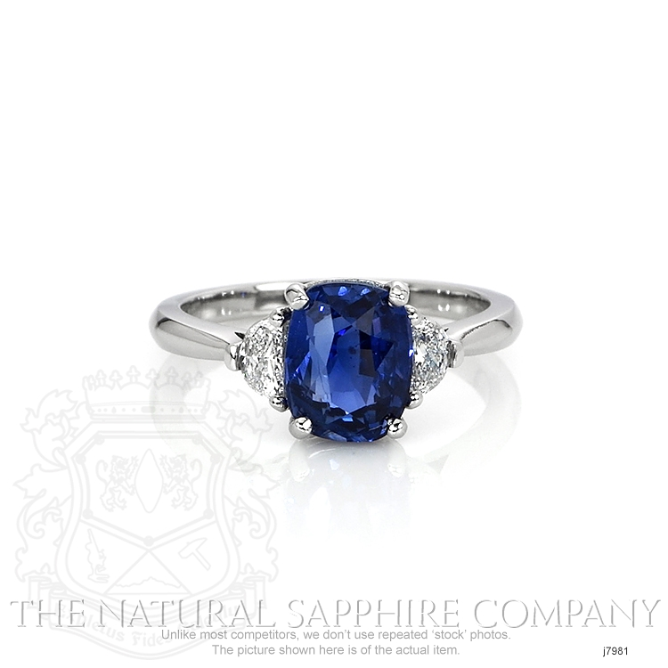 2.80ct Blue Sapphire Ring Image
