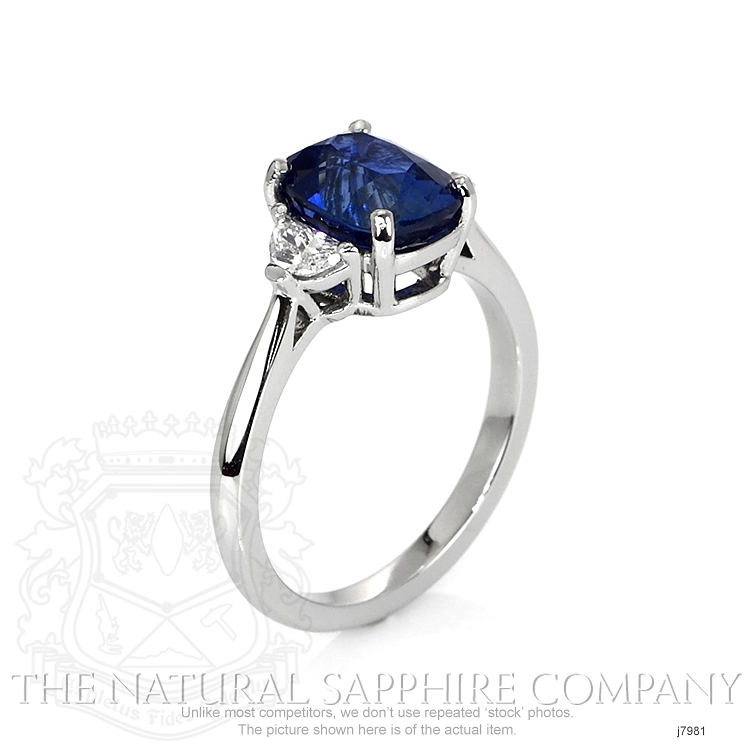 2.80ct Blue Sapphire Ring Image 2
