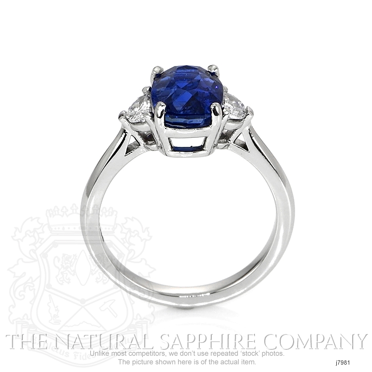 2.80ct Blue Sapphire Ring Image 4