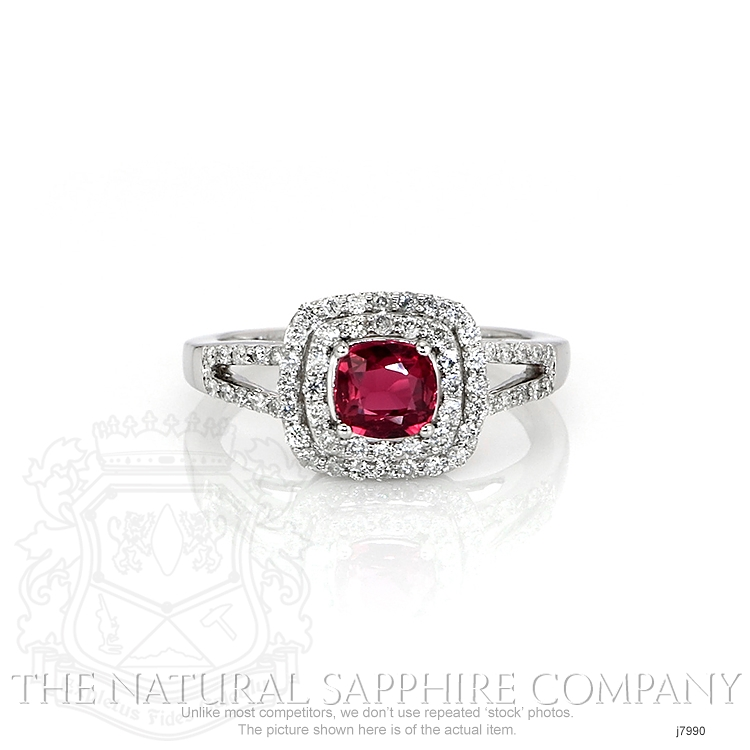 1.03ct Pink Sapphire Ring Image