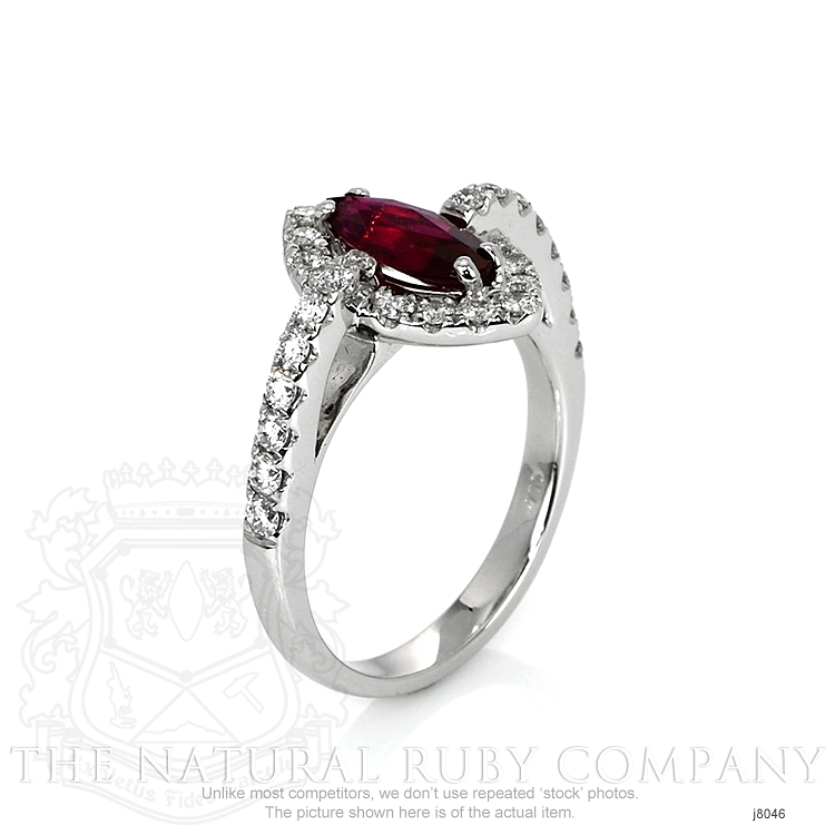 1.01ct Ruby Ring Image 2