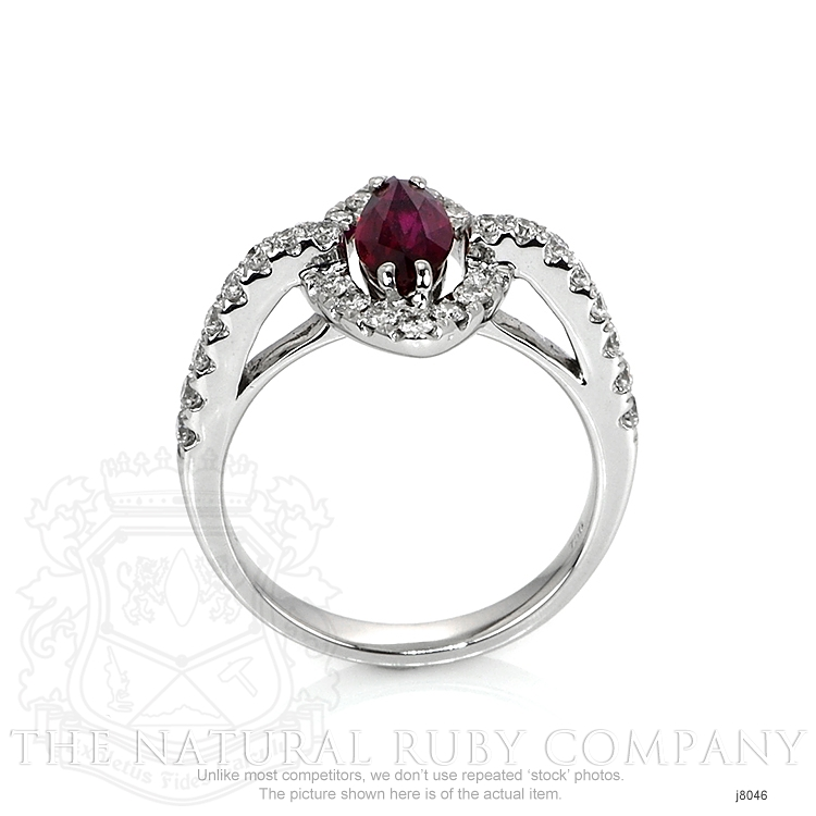 1.01ct Ruby Ring Image 4