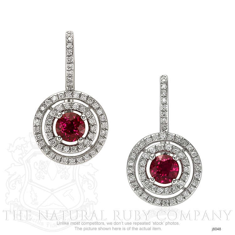 1.21ct Ruby Earring Image