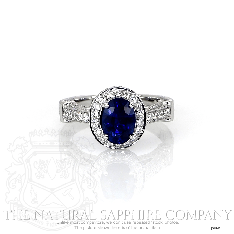 1.54ct Blue Sapphire Ring Image