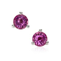 0.60ct Pink Sapphire Earring - J8083