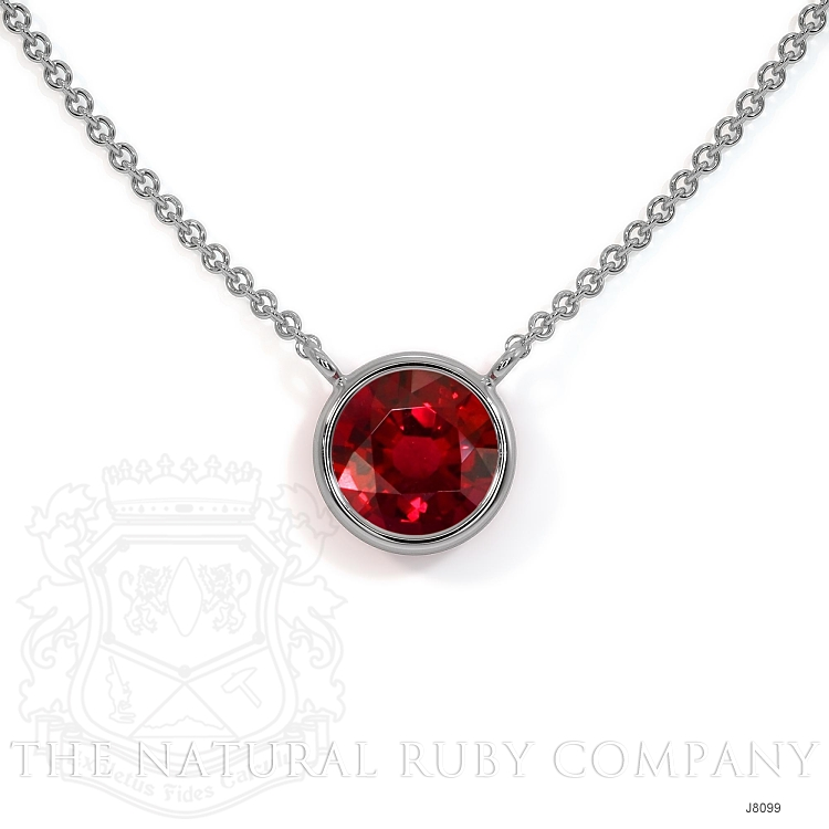 0.45ct Ruby Necklace Image