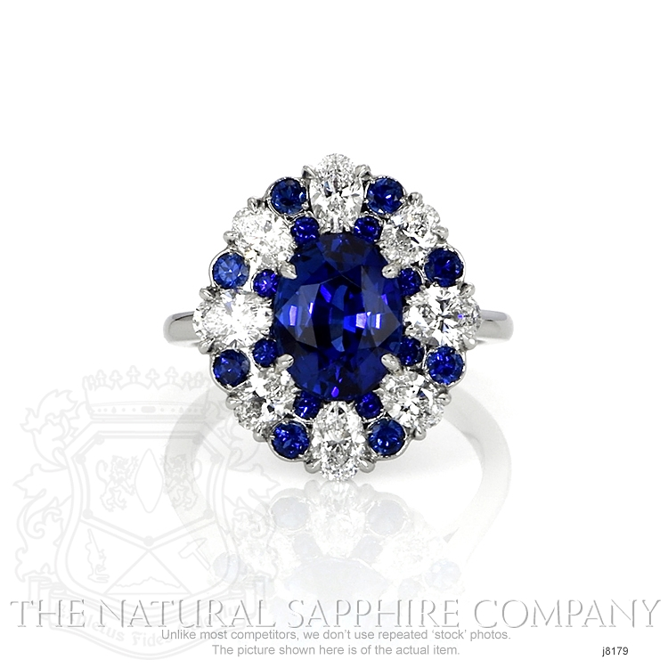 3.11ct Blue Sapphire Ring Image