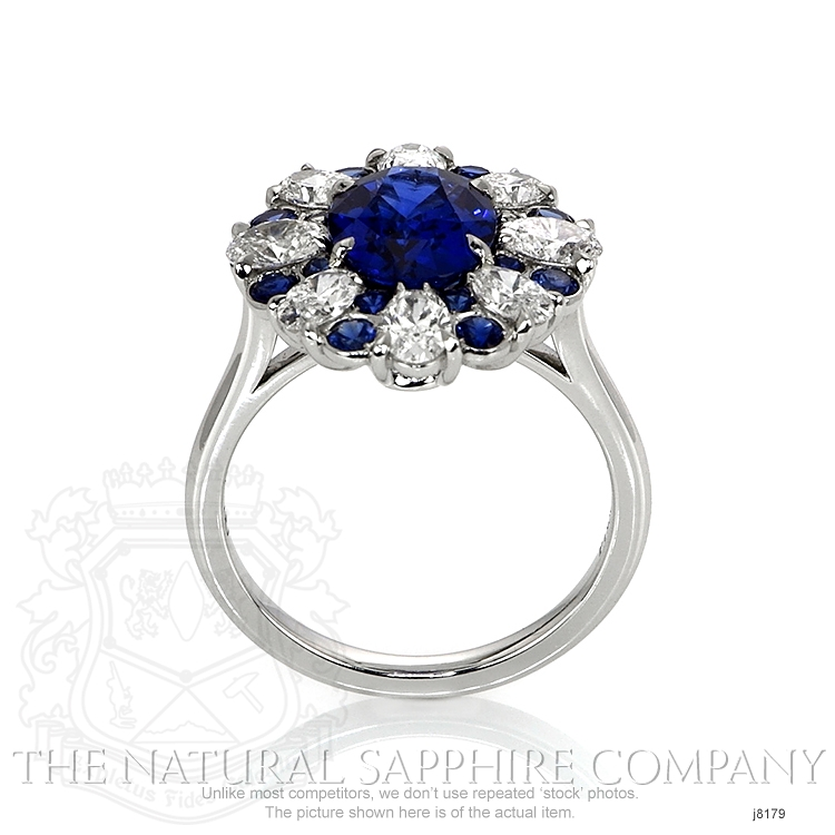 3.11ct Blue Sapphire Ring Image 4