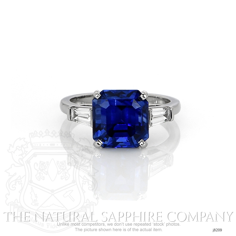 6.16ct Blue Sapphire Ring Image