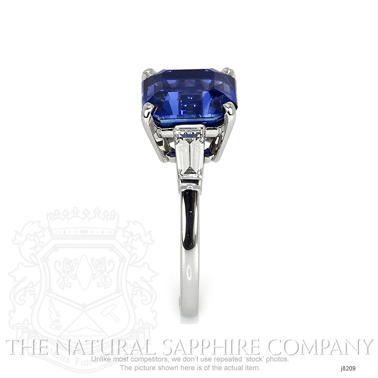 6.16ct Blue Sapphire Ring Image 3