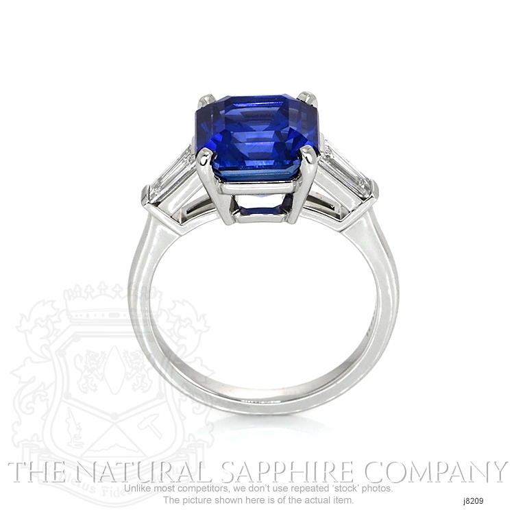 6.16ct Blue Sapphire Ring Image 4