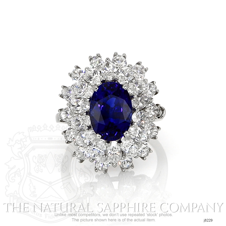 4.26ct Blue Sapphire Ring Image