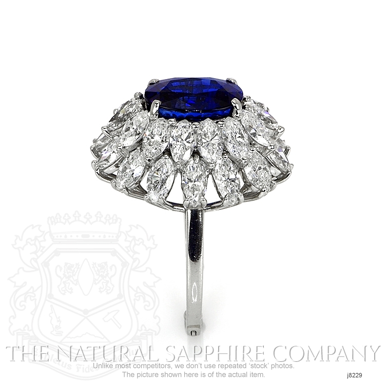 4.26ct Blue Sapphire Ring Image 3