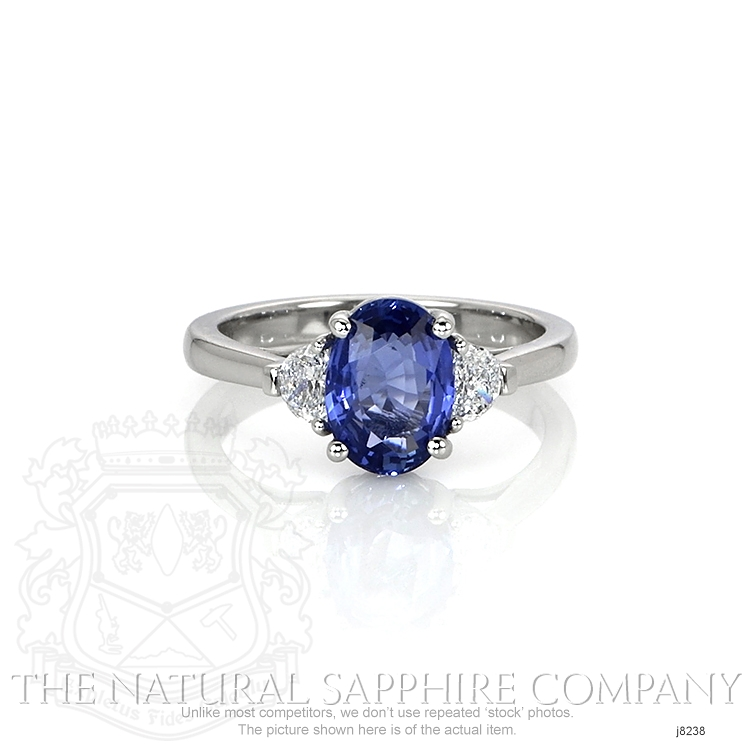 2.02ct Blue Sapphire Ring Image