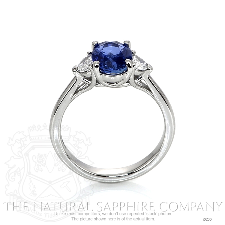 2.02ct Blue Sapphire Ring Image 4