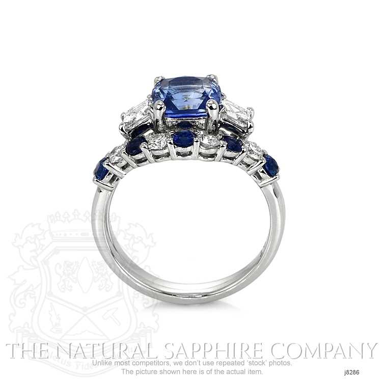 2.28ct Blue Sapphire Ring Image 4
