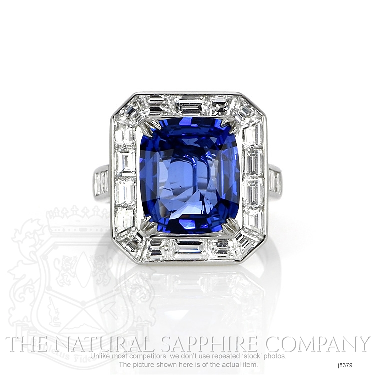5.93ct Blue Sapphire Ring Image