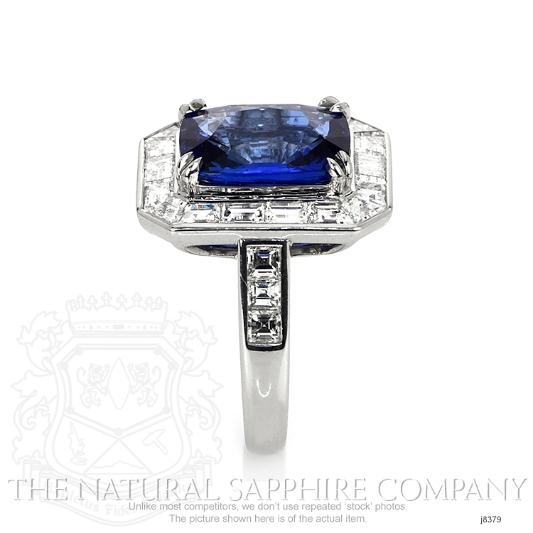 5.93ct Blue Sapphire Ring Image 3