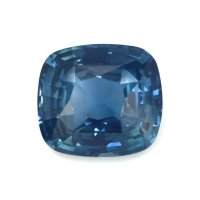 10.68ct Ceylon Cushion Greenish Blue Sapphire - B11481
