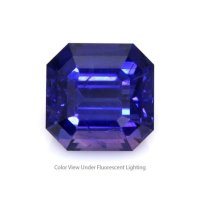 3.96ct Ceylon Emerald Cut Color Change Sapphire - B11862