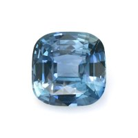 4.50ct Madagascar Cushion Greenish Blue Sapphire - B12437