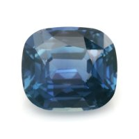 4.78ct Madagascar Cushion Greenish Blue Sapphire - B12438