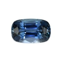6.22ct Ceylon Cushion Greenish Blue Sapphire - B12844