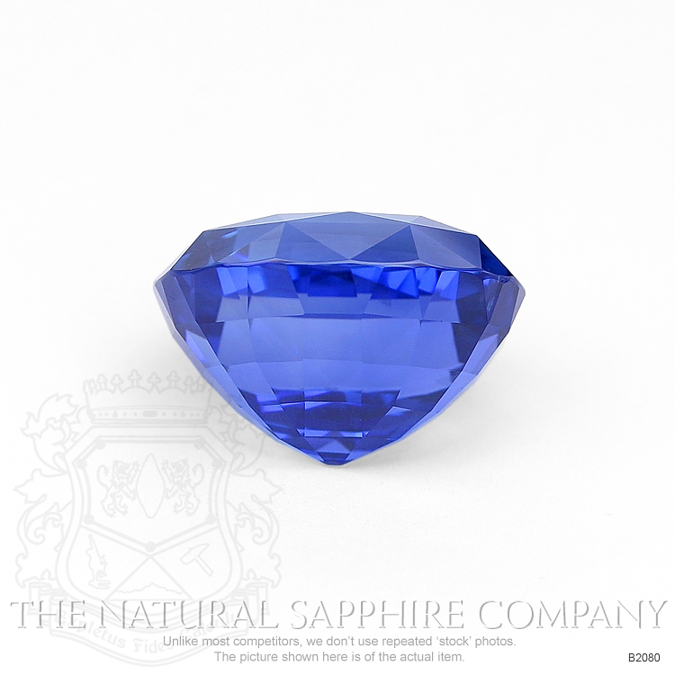 Natural Untreated Blue Sapphire B2080 Image 2