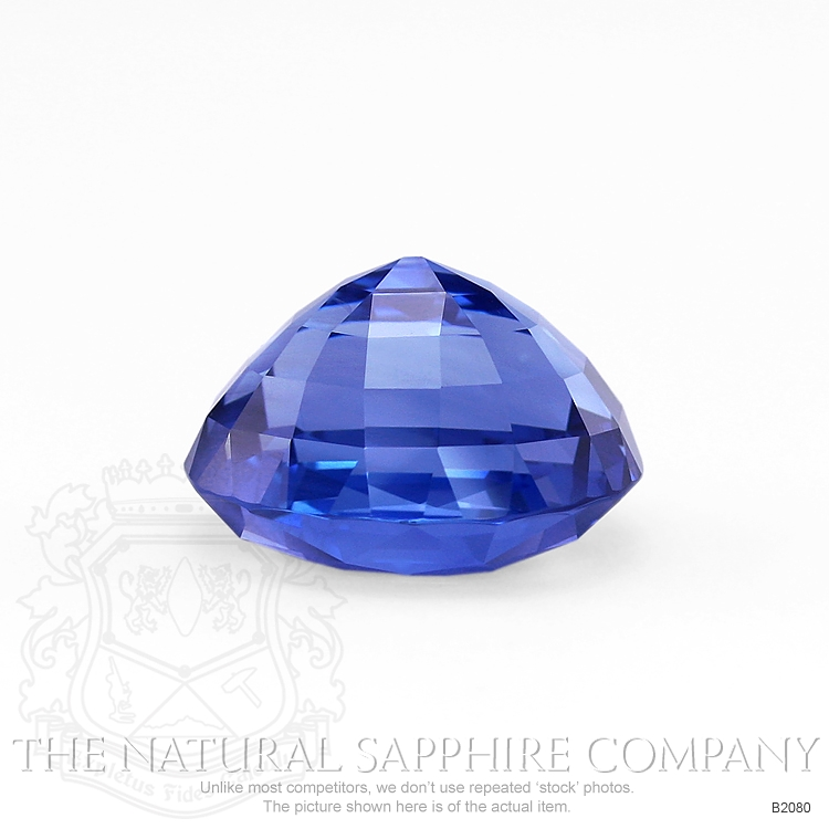 Natural Untreated Blue Sapphire B2080 Image 3