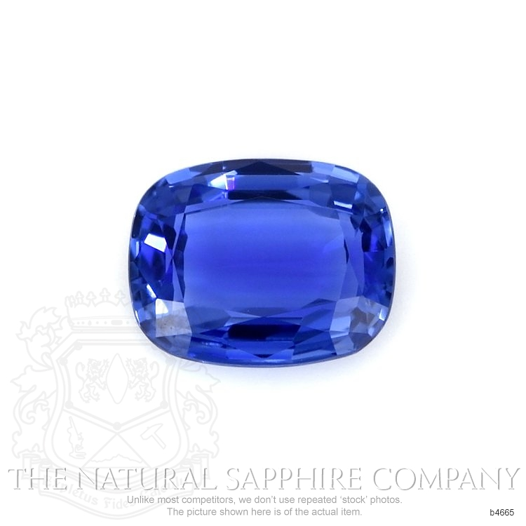 Natural Untreated Blue Sapphire B4665 Image