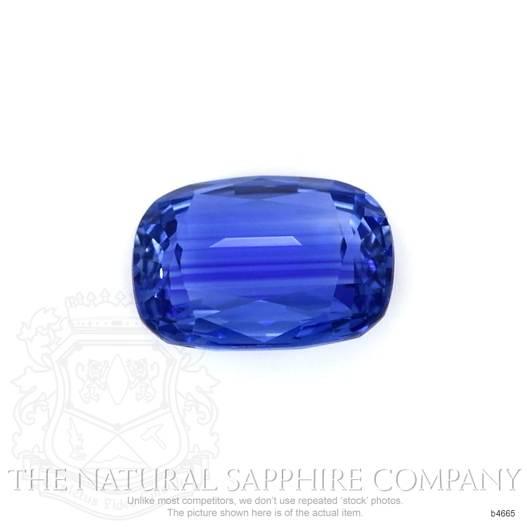 Natural Untreated Blue Sapphire B4665 Image 2