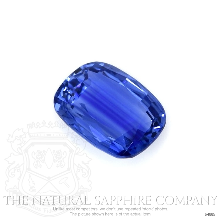 Natural Untreated Blue Sapphire B4665 Image 3