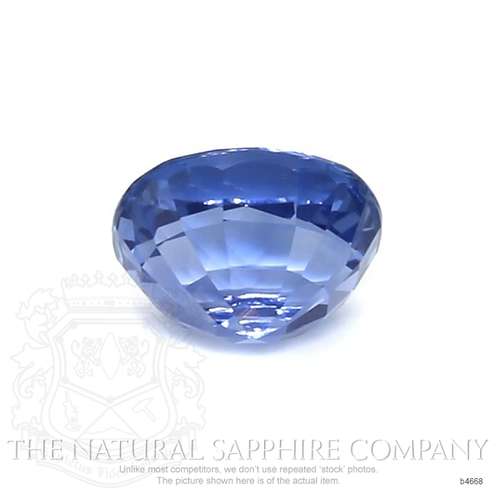 Natural Untreated Blue Sapphire B4668 Image 2