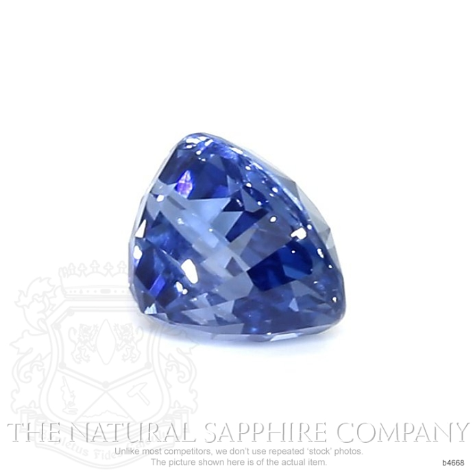 Natural Untreated Blue Sapphire B4668 Image 3