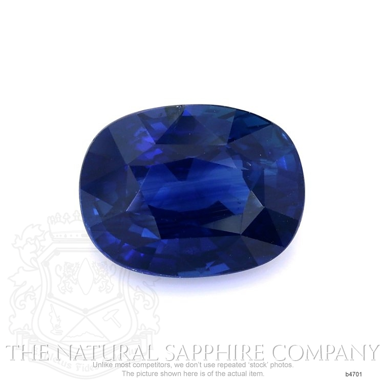 Natural Untreated Blue Sapphire B4701 Image
