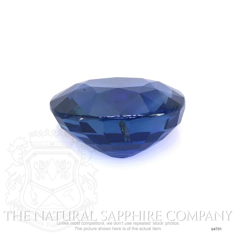 Natural Untreated Blue Sapphire B4701 Image 2