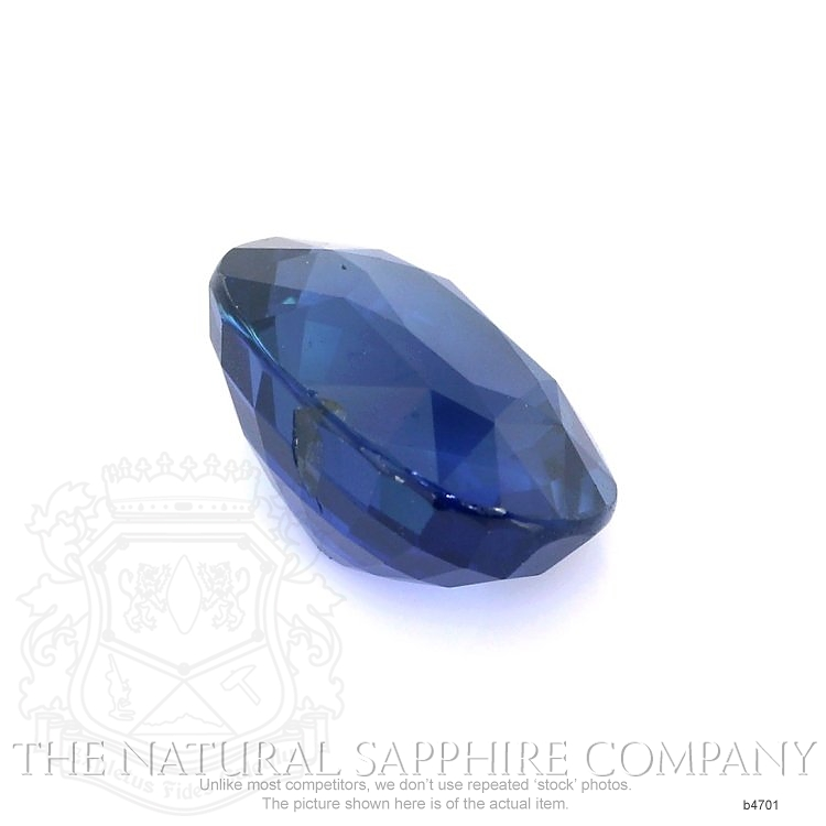 Natural Untreated Blue Sapphire B4701 Image 3