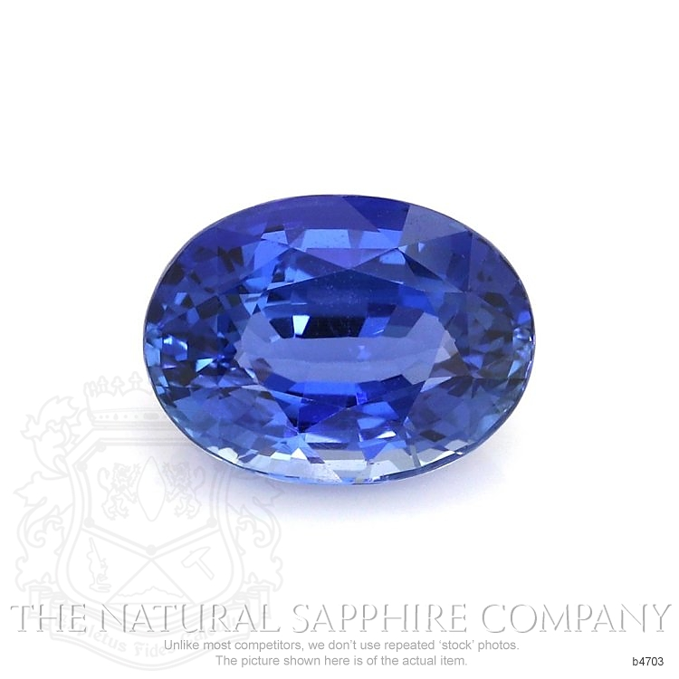Natural Untreated Blue Sapphire B4703 Image