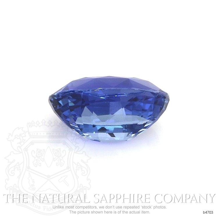 Natural Untreated Blue Sapphire B4703 Image 2