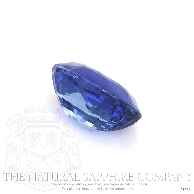 Natural Untreated Blue Sapphire B4703 Image 3
