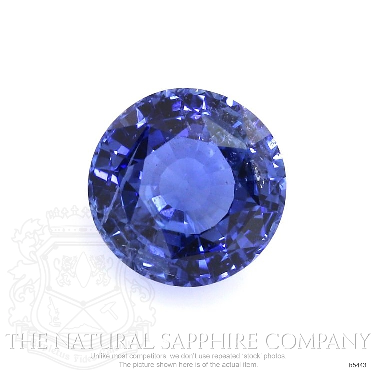Natural Untreated Blue Sapphire B5443 Image