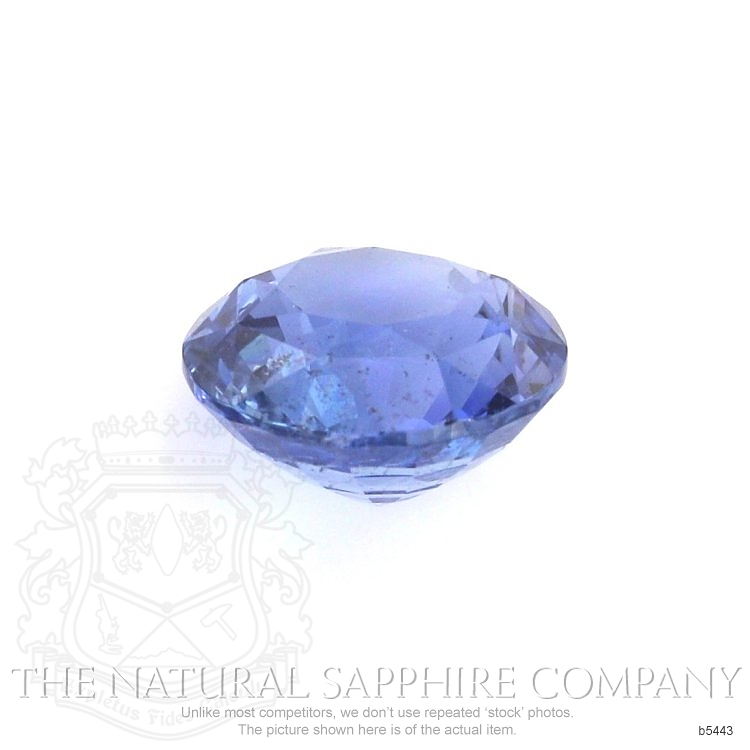 Natural Untreated Blue Sapphire B5443 Image 2