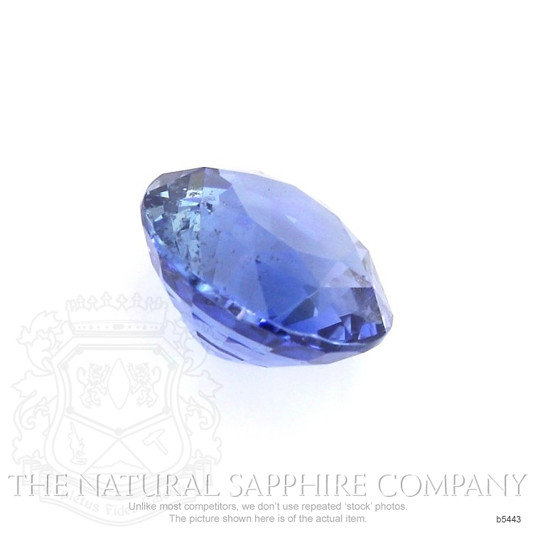 Natural Untreated Blue Sapphire B5443 Image 3