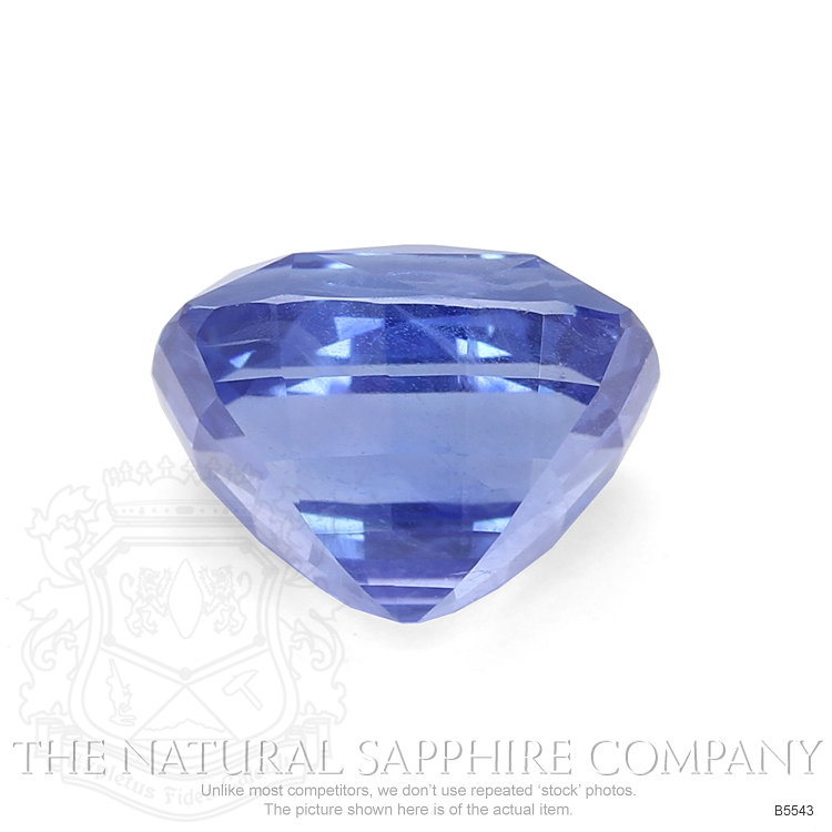 Natural Untreated 6.75 ct Cushion Blue Sapphire B5543 Image 2