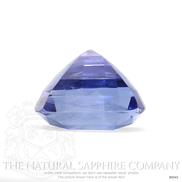 Natural Untreated 6.75 ct Cushion Blue Sapphire B5543 Image 3